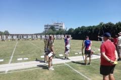 MIX tým Květa a Tomáš v semifinále proti JIM archery klubu